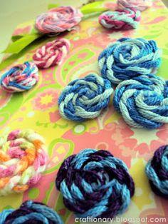 Haciendo Flores con tela de arpillera y (Tutorial) - Craftionary