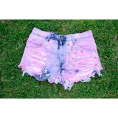 Highwaisted Hipster Tumblr Shorts ($55) ❤ liked on Polyvore