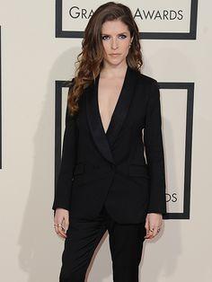 Anna Kendrick  Grammy Photos: Red Carpet Gallery (2015) | Billboard
