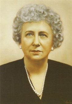 Bess Truman, wife of President Harry S. Truman