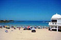 La Caleta. La #playa más tradicional de #Cádiz #beach