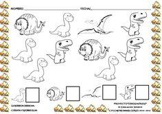 Os dejamos más actividades impresas, de elaboración propia, sobre el proyecto de los dinosaurios. ...