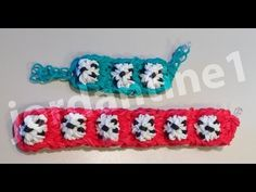 Rainbow Loom SOCCER BALL Sports Bracelet. Designed and loomed by jordantine1. Click photo for YouTube tutorial. 04/07/14