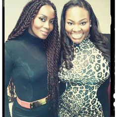 """""""#Tbt : Hanging out backstage with @tashacobbs"""" Photo taken by @chanel_rocks on Instagram, pinned via the InstaPin iOS App! http://www.instapinapp.com (10/16/2014)"""