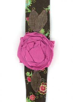 Vintage Rose Wraps Headband $16