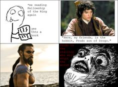 Frodo Son Of Drogo??? // Game Of Thrones // The Lord Of The Rings