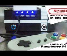 Raspberry Pi 'Nin10do' Retro Game Console - All