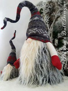 Decorazione di Natale Gnome svedese Tomte Nisse JUMBO SIZE
