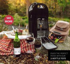 Dos portador de Botella de vino titular enfriador de bolsa caso bolso de viaje Picnic Aislado Regalo