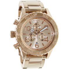 Nixon Men's Rose- Quartz Watch