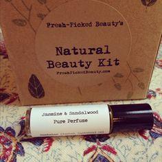 Fresh Picked Beauty: Jasmine & Sandalwood Pure Perfume