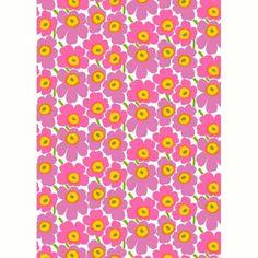 Marimekko Fabric - Cotton - Pieni Unikko 2 037 Pink – Kiitos living by design