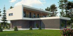 Zx70 to wyjątkowy dom z kategorii projekty domów piętrowych (dwukondygnacyjnych) Home Fashion, Home Projects, House Design, Mansions, Architecture, House Styles, Outdoor Decor, Home Decor, Houses