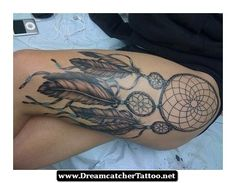 Dreamcatcher With Peacock Feathers Tattoo 06 - http://dreamcatchertattoo.net/dreamcatcher-with-peacock-feathers-tattoo-06/