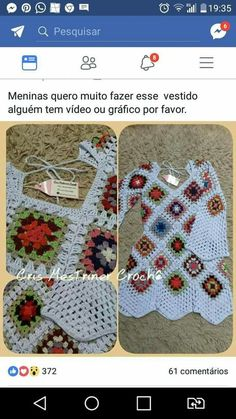 Best 12 Nice increase stitching for drapey section, maybe for a top – SkillOfKing. Crochet Beach Dress, Crochet Tunic, Crochet Yarn, Crochet Clothes, Crochet Stitches, Crochet Patterns, Crochet Cover Up, Crochet Winter, Crochet Squares