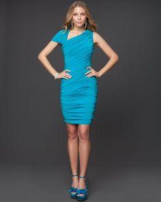 Beautiful colour! Jersey Dress #fashiondress #women #JerseyDress #Jersey #Dresses #anoukblokker