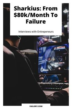 David Kramaley was the founder of Sharkius, a failed startup in the Gaming industry. What went wrong? Learn it in this interview! Social Games, Game Engine, Instagram Influencer, Web Application, Content Marketing, Fails, Burns, How To Become, Interview
