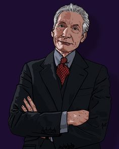 The man who proved that suits are definitely Rock 'n' Roll. Charlie Watts, Rock N Roll, The Man, Suits, Fictional Characters, Rock Roll, Suit, Fantasy Characters, Wedding Suits