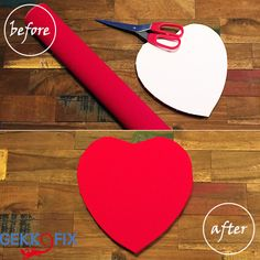 ♥ Do It Yourself ♥ Peace of cake with vinyl and red baize. Get Inspired & Get Creative! Get your vinyl and baize from www.vinylwarehouse.co.uk #DIY #Baize