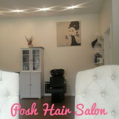 Audrey Hepburn-Posh Hair Salon