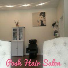 Audrey Hepburn-Posh Hair Salon