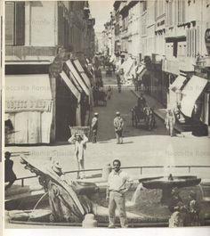 Foto storiche di Roma - Via Condotti -1895