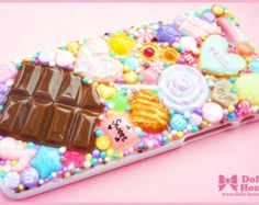 Kawaii sweet decoden iPhone 6 deco case -Sweets Parade-  by Dolly House