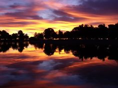 Apollo park in Lancaster, California -- morning reflecting. Submitted by Hana H.
