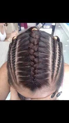 Peinados Baby Girl Hairstyles, Braided Hairstyles, Top Braid, Braids For Long Hair, French Braid, Hair Hacks, Hair Cuts, Beautiful Hairstyles, Long Hair Styles