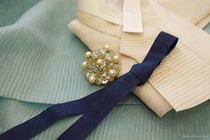 오리미한복 :: 지중해를 닮은 물빛 치마와 상아색 저고리_ 오리미 혼주한복