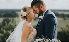 Featuring a stylish groom & a bride in the loveliest lace wedding dress, with beautiful bridal makeup & an elegant updo, these Spring wedding ideas are heavenly! Cream Bridesmaids, Bridesmaid Dresses, Wedding Dresses, Beautiful Bridal Makeup, Wedding Renewal Vows, Colette, Spring Wedding Inspiration, Dallas Wedding, Wedding Couples