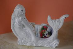 Cast Iron Mermaid Business Card Holder  by beautifuldetailswed, $25.00