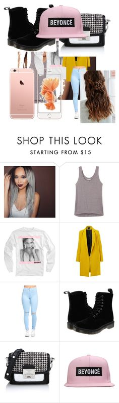 """""""Beyoncé"""" by ricki-kaag ❤ liked on Polyvore featuring Rebecca Minkoff, Dr. Martens, Karl Lagerfeld, women's clothing, women, female, woman, misses and juniors"""