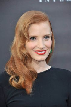 15 NIFTY MEDIUM AND LONG RED HAIRSTYLES----