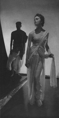 Elsa Schiaparelli by Horst, Vogue, June 1935