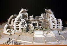 Paolo Soleri: The True Legend of the Arizona Architecture Scene Renaissance Architecture, Gothic Architecture, Futuristic Architecture, Architecture Design, Architecture Facts, Gaudi, Techno, Architecture Organique, Arizona