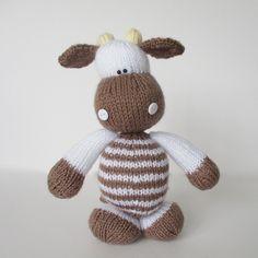 Ravelry: Milkshake the Cow pattern by Amanda Berry