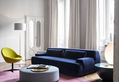 Shop sofas at Chairish, the design lover's marketplace for the best vintage and used furniture, decor and art. Chaise Sofa, Sectional Sofa, Living Area, Living Spaces, Living Rooms, Cheap Chairs, Sofa Shop, Sofa Design, Contemporary Furniture