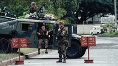 Panama's dictator, Manuel Noriega, surrendered to the invading U.S. military in 1989. He holed up at the Vatican Embassy, and gave up after being subjected to days of deafening music.