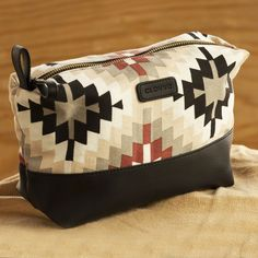 Aztec Faux Leather Travel / Cosmetics Pouch. https://www.qtrove.com/products/aztec-faux-leather-travel-cosmetics-pouch Quality inner lining which can be pulled out for washing. Recommended for travellers. https://www.qtrove.com/products/aztec-faux-leather-travel-cosmetics-pouch