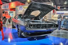 Mopar in recent years has been bringing some serious muscle to the annual SEMA show. And some of the show cars have ended up as production models. Prime examples include the Dodge Viper ACR concept we saw in 2014 and the Dodge Challenger GT AWD concept we saw in 2015. (The wide-body...