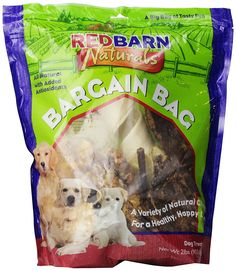 Redbarn Pet Products Bargain Bag 2lbs. -- Tried it! Love it! Click the image. : Dog Treats