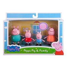 """Peppa Pig - Peppa and Family 3"""" 4 pack - Everest - Toys""""R""""Us"""
