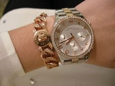 Luv Marc Jacobs watches and bracelets
