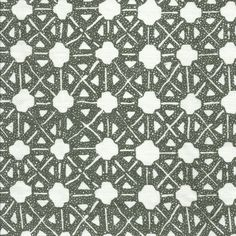 Geometric textural motifs printed on a Belgian linen ground. Textile Fabrics, Textile Patterns, Lafayette Square, Soapstone Carving, Watercolor Background, Seville, Designer Wallpaper, Aerial View, Screen Printing