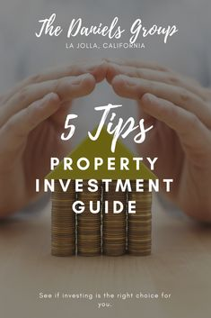 A Brief Property Investment Guide: 5 Simple Tips Buying Investment Property, Investment Firms, Real Estate Investing, Rental Property, Real Estate Tips, Home Buying, Place Card Holders, La Jolla, California