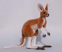 Merloo красный кенгуру Джоуи по LisaAP