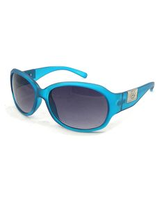Another great find on #zulily! Blue Classic Sunglasses by Big Buddha #zulilyfinds