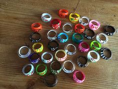 #Bundle /  joblot of 34 rings - costume #jewellery - lucia #(plastic) - new,  View more on the LINK: http://www.zeppy.io/product/gb/2/152035778151/