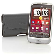 Virgin Mobile HTC Wildfire S Prepaid Android Smartphone with Accessories and App Bundle at HSN.com.